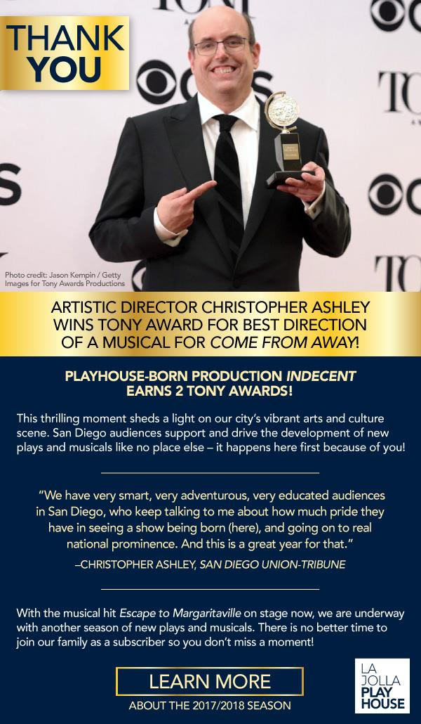 Tony Award Winner Christopher Ashley_ General_Singles
